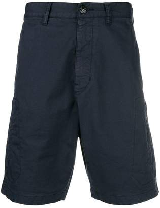 Stone Island Shadow Project classic cargo shorts