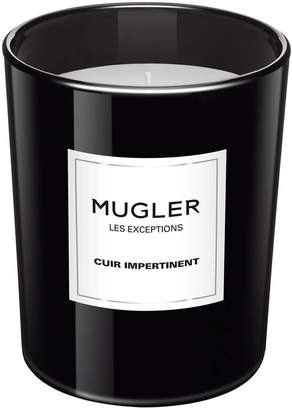 Thierry Mugler Les Exceptions Cuir Impertinent Candle