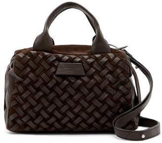 Liebeskind Berlin Omaha Woven Leather Satchel