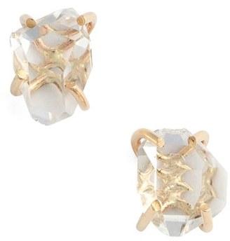 Women's Melissa Joy Manning Herkimer Stud Earrings $315 thestylecure.com
