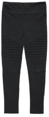 Girl's Tucker + Tate High Waist Moto Pants $29 thestylecure.com