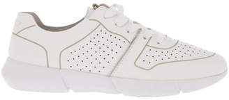 Madrid White Leather Sneaker