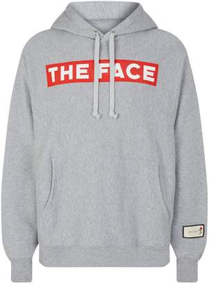 Gucci Oversized Text Print Hoodie