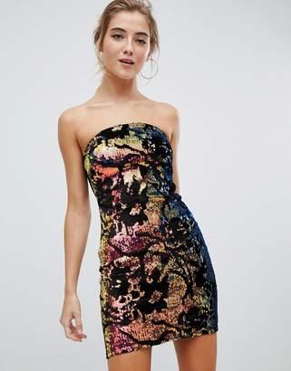 Parisian Bandeau Sequin Dress