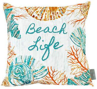 SARA B Sara B Beach Life Square Pillow