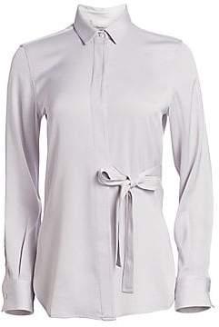3.1 Phillip Lim Women's Long Sleeve Tie-Waist Top