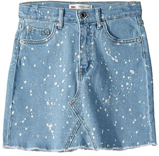 Levi's Kids High-Rise Denim Skirt (Big Kids)