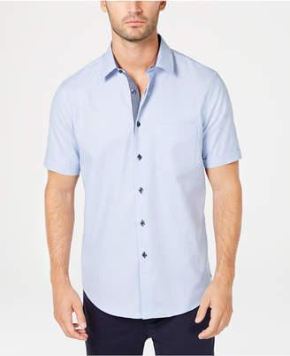 Tasso Elba Men Regular-Fit Box Dobby Shirt