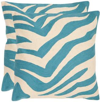 Safavieh Set Of 2 Urban Spice Pillows
