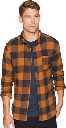 Quiksilver Men's Motherfly Button Down Flannel Shirt