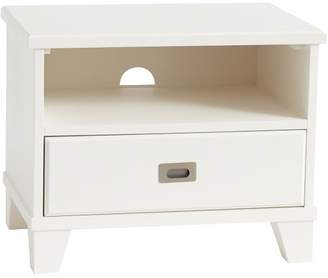 Pottery Barn Teen Findley Bedside Table, Water-Based Simply White, UPS