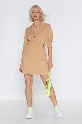 eb1d5680b817 Nasty Gal O-Ring It On Mini Blazer Dress