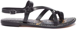cfa183da0 Sam Edelman  Gladis  strappy leather sandals