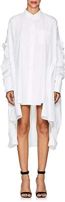 Helmut Lang Women's Cotton Poplin Oversized Shirtdress