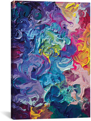 icanvasart Rainbow Flow By Tanya Shatseva