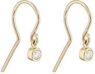 Jennifer Meyer Women's Diamond Bezel Drop Earrings
