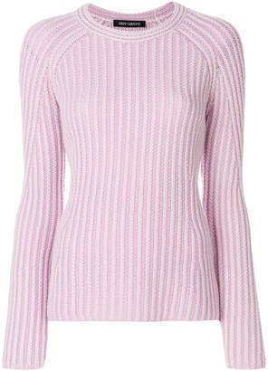 Iris von Arnim ribbed jumper