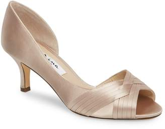 Nina Contesa Open Toe Pump
