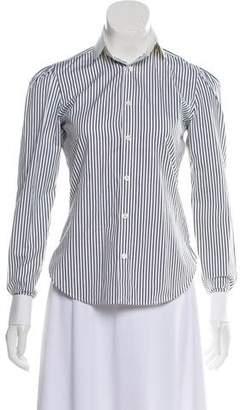 Ralph Lauren Pinstripe Button-Up Top w/ Tags