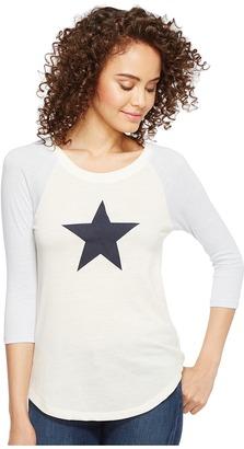 Alternative - Eco Jersey Raglan Baseball T-Shirt Women's T Shirt $44 thestylecure.com