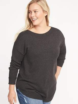 Old Navy Plus-Size Curved-Hem Sweater