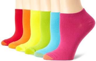 Gold Toe Women's 6 Pack Pair Jersey Liner Socks