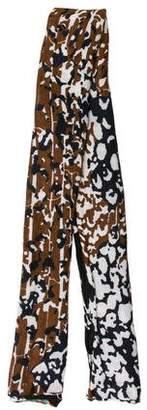 Diane von Furstenberg Knit Printed Scarf