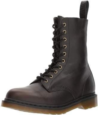 Dr. Martens 1490 Black Harvest Leather Fashion Boot 8 Medium UK (US Women's 10 US Mens 9 US)