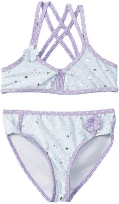 Jantzen Girls' 2Pc Crisscross Bikini
