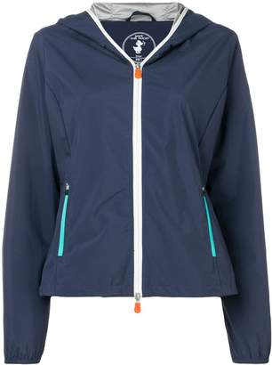 Save The Duck hooded zipped-up jacket