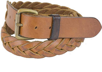 A Leather Studio Woven Leather Belt