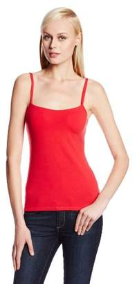 Panache Women's Cotton-and-Lycra Camisole with Built-In Bra