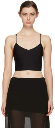 Ann Demeulemeester Black la fille dO Edition Nano Bra
