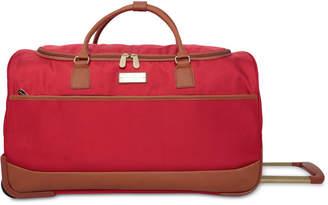 Jessica Simpson Classic Preppy Rolling Duffel Bag