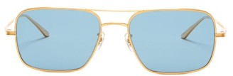 The Row X Oliver Peoples Victory La Sunglasses - Womens - Gold