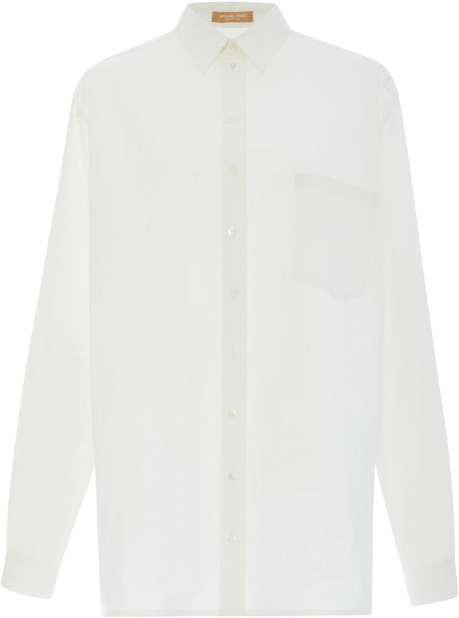 Michael Kors Collection Dolman Poplin Shirt