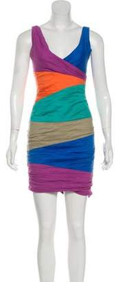 Nicole Miller Sleeveless Mini Dress
