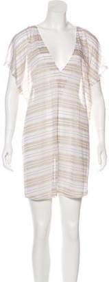 Jenni Kayne Semi-Sheer Mini Dress