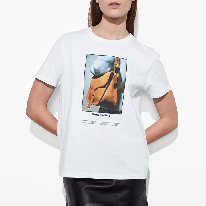Coach   COACH Coach T-shirt With Archive Print