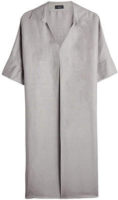 Joseph Linen and Silk Shirt Dress