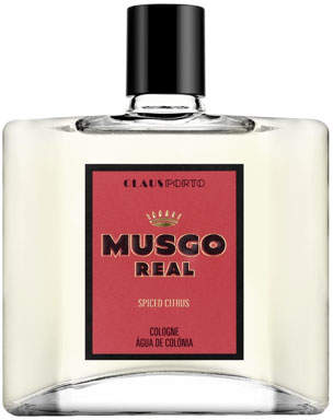 Musgo Real Spiced Citrus Eau De Cologne, 3.4 oz./ 100 mL