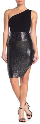 Know One Cares Sequin Bodycon Skirt