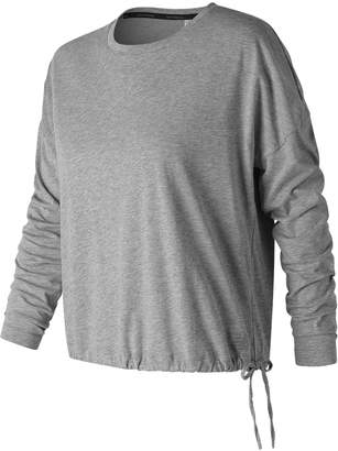 New Balance Women's Heather Tech Long Sleeve Shirt
