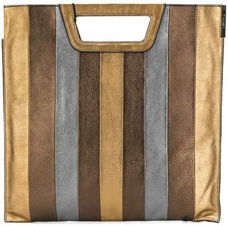 Twin-Set striped tote