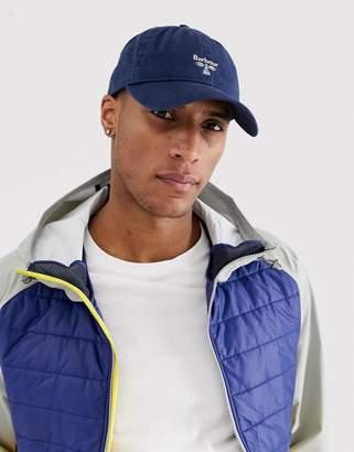 Barbour Beacon Caudale baseball cap in navy