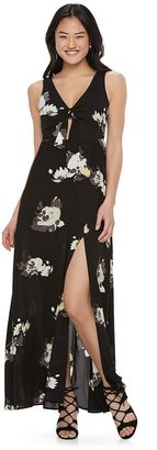 Juniors' Candie's® Floral Maxi Dress $58 thestylecure.com