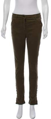 Belstaff Mid-Rise Straight Pants