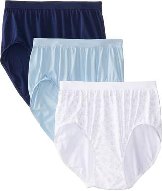 Bali Women's 3 Pack Comfort Revolution Brief Panty