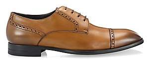 Ermenegildo Zegna Men's Derby Leather Dress Shoes
