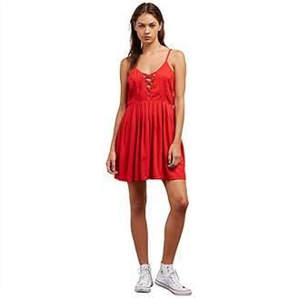 Volcom Junior's Cross Paths Woven Dress